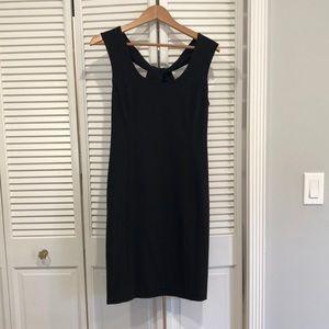Banana Republic Black Knit Dress